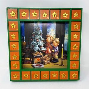 MI Hummel Wood Advent Christmas Calendar